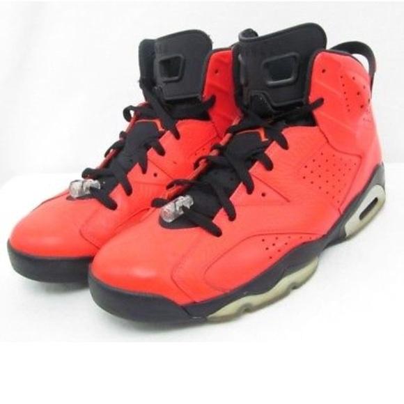 1f6e472a48baac Nike Air Jordan 6 Retro Toro Red Size 12